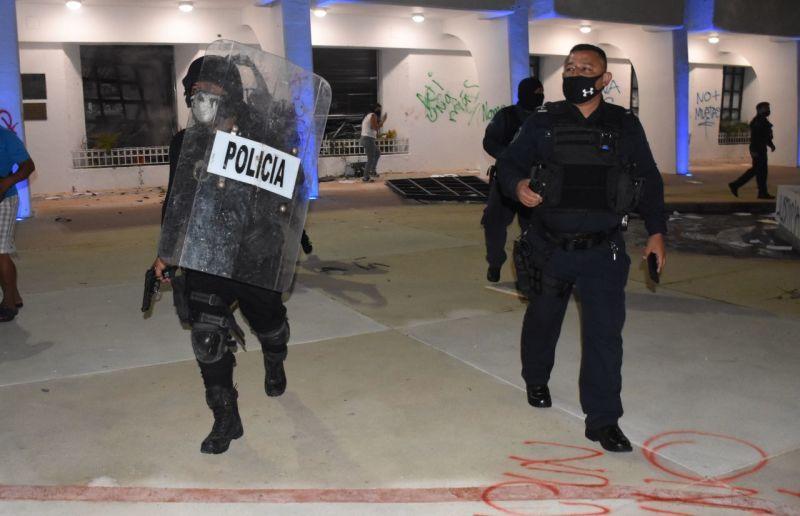 Condena ONU represión policiaca contra manifestación en Cancún