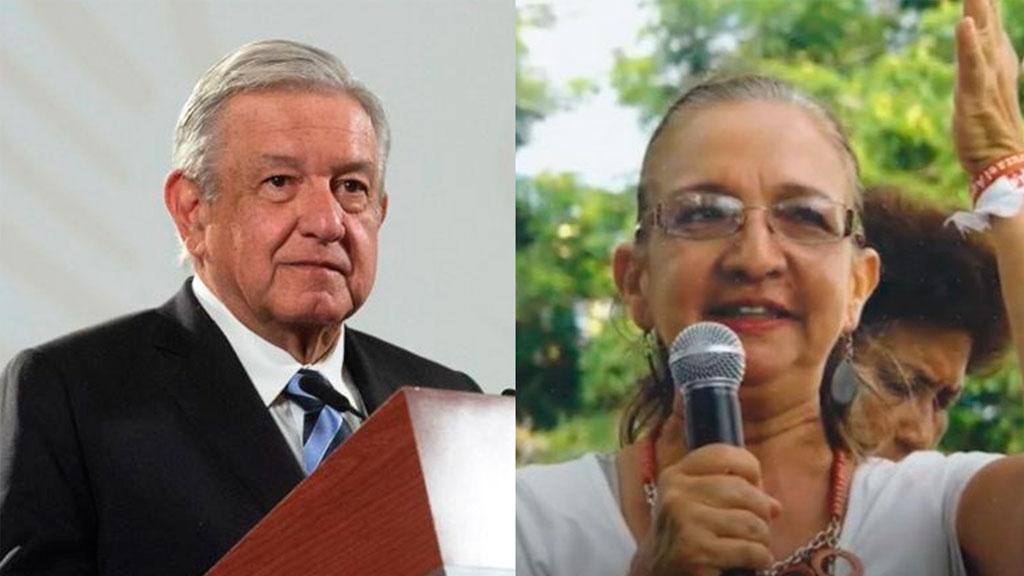AMLO se deslinda de los contratos de Felipa López con Pemex
