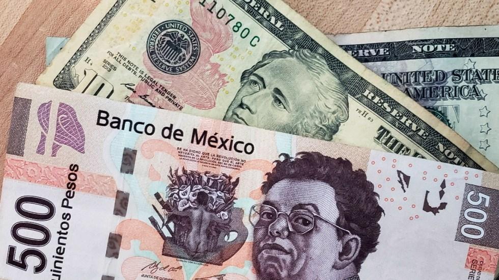 Bolsa Mexicana de Valores y peso mexicano operan con ganancias