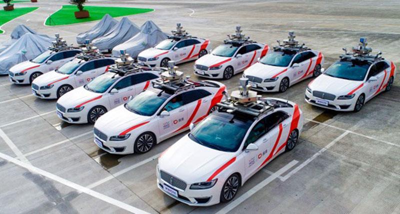 En China ya circulan taxis sin conductor, 100% autónomos