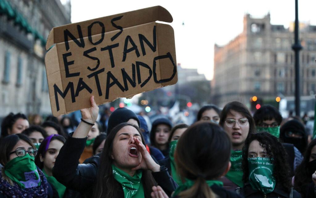 Violencia contra las mujeres en México aumentó más del 30 por ciento en 2020