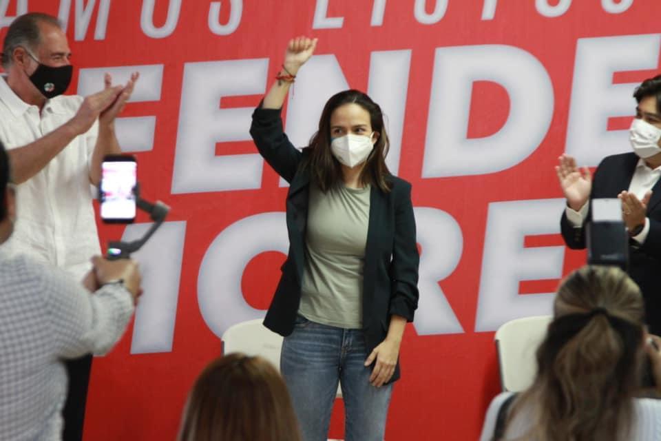 PRI Morelos apunta al Congreso local de la mano de Lourdes Riva Palacio.