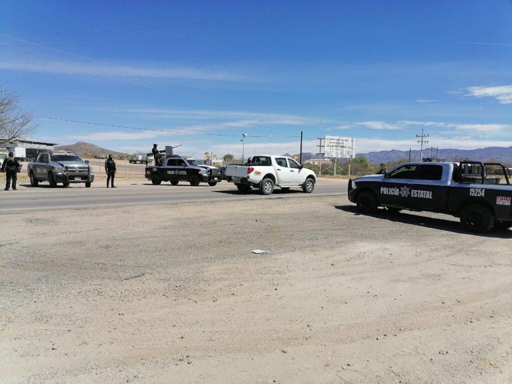 La PESP adelantó que seguirá trabajando en coordinación con autoridades federales, estatales y municipales en pro de la seguridad de Sonora.