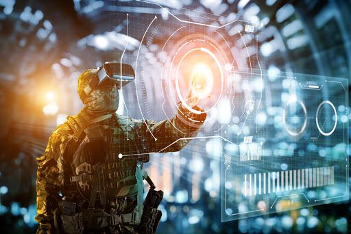Uso de realidad virtual en la guerra y defensa