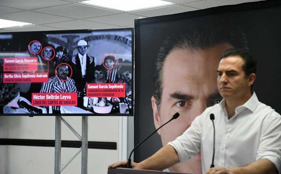 Adrián de la Garza pide que el candidato de MC de la cara ante la opinión pública y autoridades de Nuevo León.