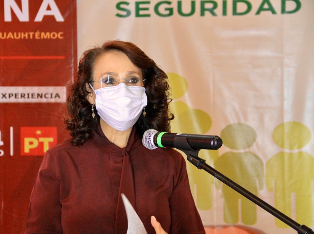 Las primeras encuestas dan ventaja a Dolores Padierna en Cuauhtémoc.