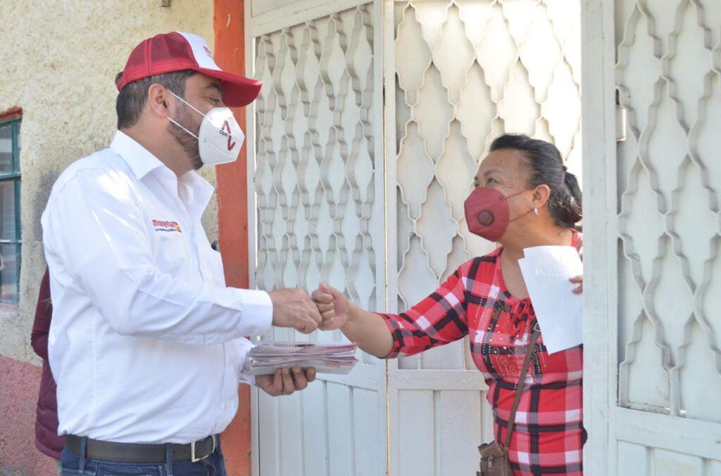 Vidal Llerenas promete un plan integral de recuperación para las unidades habitacionales de Azcapotzalco.